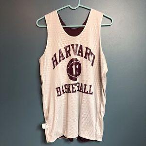 Harvard Champion Basketball Jersey Medium Maroon